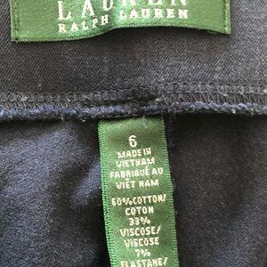 Ralph Lauren Navy Capris